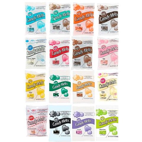 Cobertura Caramelo Candy Melts - Wilton en español