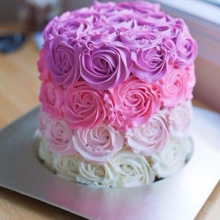 Cómo preparar un pastel de cumpleaños decorado con flores [RECETA] | Wilton  en Español